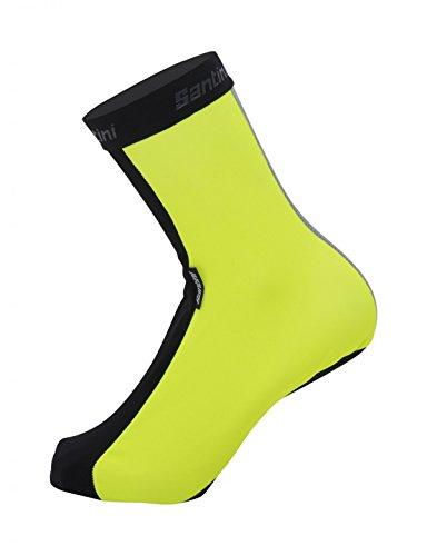 Santini Overshoes Vega 2 para Hombre, Hombre, Cubrezapatos, CAS3680M, Amarillo, M