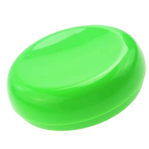 D DOLITY 1 Pièce Porte Épingle Magnétique Titulaire Épingle Forme Rond Magnétique Aiguille Pelote - Vert