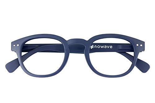 Occhiali neutri per PC, Tablet, TV   Occhiali riposanti ANTI LUCE BLU 40%   Maggior comfort e relax visivo da subito   Blu Neutro