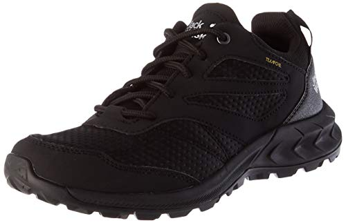 Jack Wolfskin Damen Woodland Texapore Low W Outdoorschuhe, Black, 37 EU