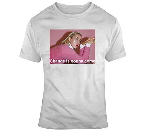 New Day T-shirt pour fan de musique Ralph Singer Pop Change is Gonna Come Pride LGBTQ Blanc - Blanc - XXX-Large