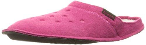 crocs Classic Slipper, Unisex-Erwachsene Ungefüttert Hausschuhe, Pink (Candy Pink/Oatmeal), 42/43 EU