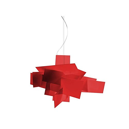 Foscarini Lampe de Suspension Foscarini Big Bang LED – Rouge