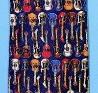 Tie Studio - Corbata de seda, dise?o de guitarras