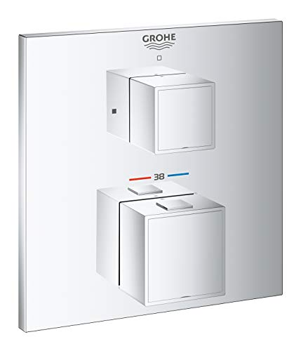 Grohe Grohtherm Cube 24153000 Thermostaat-douche-accu, chroom, chroom