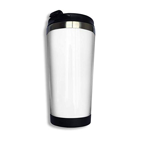 Hdadwy Taza de taza de café de acero inoxidable - Bandera de Irlanda Versión auténtica de alta calidad Taza de vaso de acero inoxidable al vacío con aislamiento Taza de viaje de café de 13.5 oz