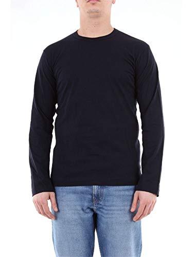 Comme des Garçons Luxury Fashion Herren CDGT1PLABLUE Blau Baumwolle T-Shirt | Jahreszeit Outlet
