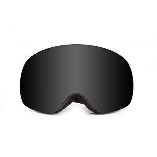 Oceansunglasses Arlberg Black frame with smoke lens