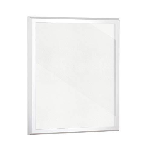 Objektrahmen 2 cm tiefer Bilderrahmen VARIANTO35 60x80 cm Weiß matt mit Passepartout