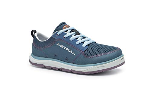 Astral Women's Brewess 2.0 Everyday Minimalist Outdoor Sneakers, Grippy and Quick Drying, Made for Water Sports, Travel, and Rock Scrambling, Deep Water Navy, 8.5 M US