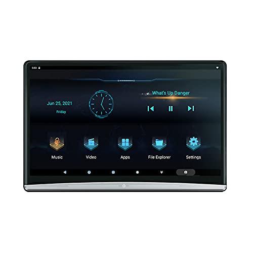 Reproductores de vídeo para reposacabezas de coche 13,3 pulgadas Android 10,0 Sistema de entretenimiento trasero para coche 4K 1080p Wifi/Bluetooth/Usb/Hdmi/Airplay