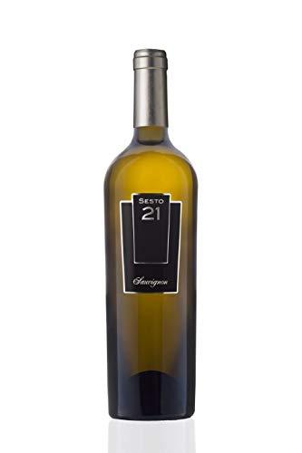 SESTO 21 SAUVIGNON IGP LAZIO (2018) di Casata Mergè –Confezione da 6 bottiglie da 0,75 lt