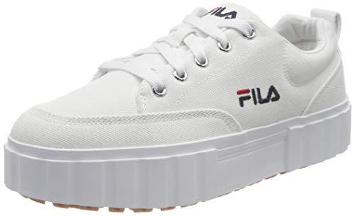 FILA Sandblast C wmn zapatilla Mujer, blanco (White), 39 EU
