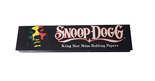 SNOOP DOGG ローリングペーパー キングサイズスリム 110mm ロング タバコ ペーパー [並行輸入品]