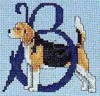 Pegasus Originals Beagle Counted Cross Stitch Alphabet Kit