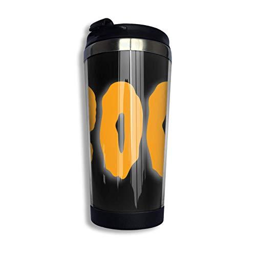 IUBBKI Hween Boo Pullover Hoodie Coffee Travel Mug Taza Vaso aislado al vacío de acero inoxidable 13.5 oz