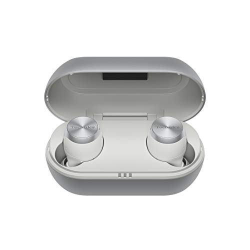 Technics EAH-AZ70WE-S True Wireless In-Ear Premium Class Kopfhörer (Noise Cancelling, Sprachsteuerung, kabellos) Silber