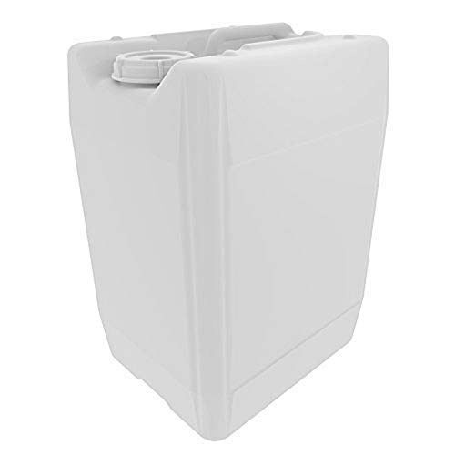 UN/DOT Tight Head Containers for Shipping, Transport, Storage, and Waste; 20L (5 Gallon), HDPE, 70mm Cap, UN 3H1, 1/EA