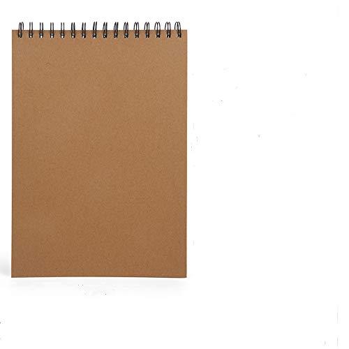 A3Bloc de Dibujo160 g/m²papel grueso de, 1pcs Cuaderno de Dibujo Bonitos Sketchbook con Tapa Dura 30 Hojas, DIY Libros de Visitas para Escribir Dibujo Adecuado para Lápiz Acuarela Dibujo Escritura.