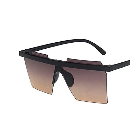 Gafas De Sol De Moda Unisex Gafas De Sol Cuadradas Vintage para Mujer, Gafas De Sol Steampunk para Hombre, Gafas De Sol Retro Punk para Mujer, Gafas C