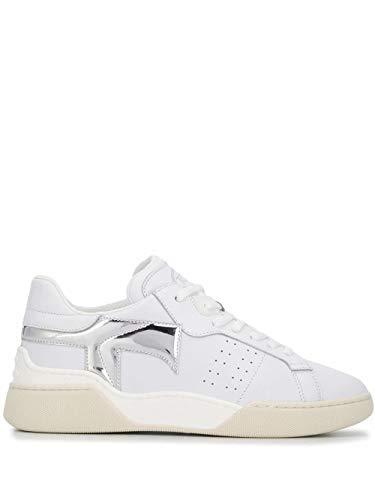 Tod's Luxury Fashion Damen XXW31C0CU20NOO0ONC Weiss Leder Sneakers | Frühling Sommer 20