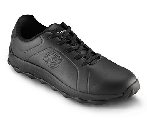50012 Bubble Step - Sneaker Berufsschuh - Geeignet für Krankenhaus und Pflege, Gastronomie (HORECA) und Küche, Pharmaindustrie, Dienstleistung und Reinigung - Schwarz - Gr. 43
