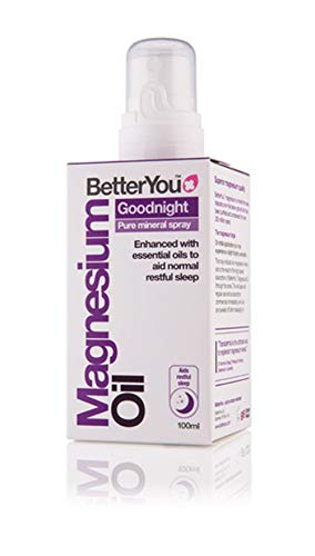 BetterYou Magnesium Oil Goodnight Spray (Pack of 2), 100ml