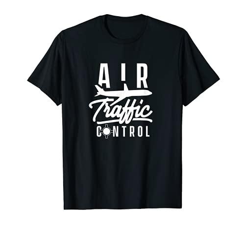 Contrôleur de trafic aérien ATC Contrôle des services de vol T-Shirt