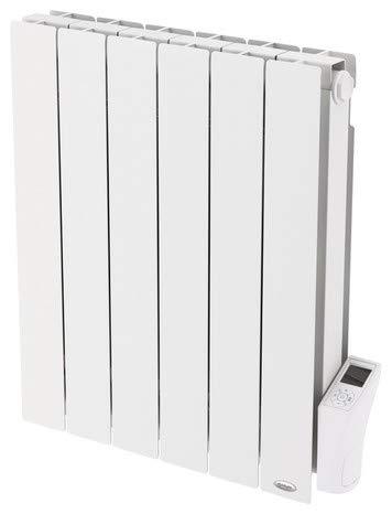 CHAUFFAGE MURAL RADIATEUR INERTIE SECHE ZUMBA 1 500W 1 500 W H. 58 x L. 79 cm ELECTRIQUE