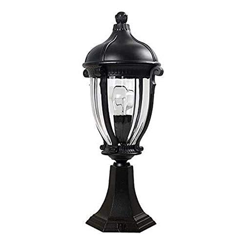 AMOYEE Lámpara de Pared de Aluminio de la lámpara de Aluminio al Aire Libre de la lámpara de jardín a Prueba de Agua a Prueba de Agua Retro de la lámpara de la Columna de la lámpara de la Columna del