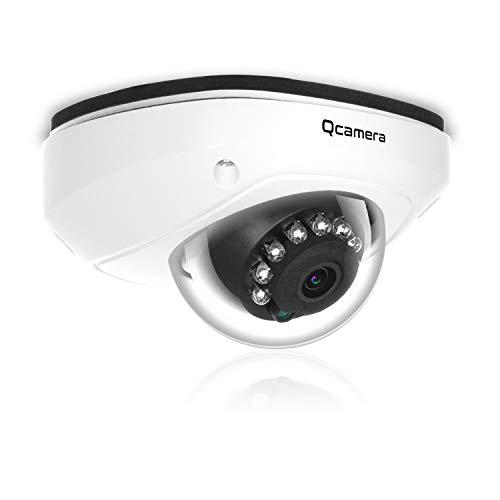 Q-camera CáMara De Seguridad Tipo CúPula 1080P 2MP Tvi/Cvi /Ahd/Cvbs 1/2.9