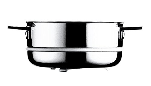 Mepra Attiva 30186122 22cm Inner Vegetable Steamer – Silver Finish Kitchenware, Hand Washable Kitchen Utensils, 22 CM