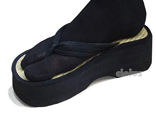 cinius Calcetines con separación del Pulgar Color Negro