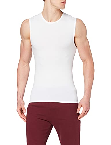 Nur Der Herren Tank Top Cotton Strech Unterhemd, Weiß (Weiß 30), Medium (Herstellergröße: 5=M)