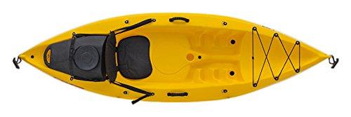 EXO bay 1 Sport, Kayak da Mare Sit On Top Unisex-Adulto, Rosso, 275 cm