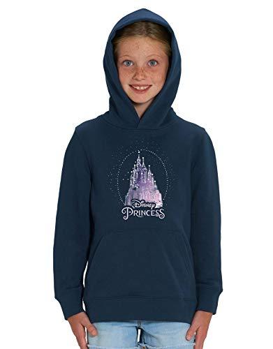 Disney Princess' Sparkle Castle Children's Unisex Navy Printed Hoodie