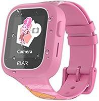 Smartwatch dla dzieci GPS/GLONASS/LBS/WI-FI śledzenie wodoodporny IP67 z wymiennymi paskami, ekranem dotykowym, funkcją...