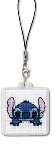 ディズニー 刺繍キット オリムパス ストラップ スティッチ/ST-8 [刺しゅうキット/ししゅう/クロスステッチ/