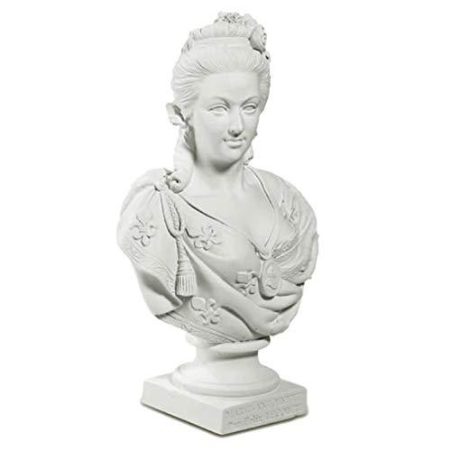 Souvenirs de France - Buste de Marie-Antoinette par Lecomte - Blanc