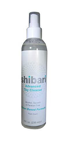 Our #3 Pick is the Shibari Advanced Antibacterial Toy Cleaner