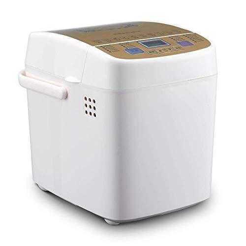 Máquina de pan,máquina de pan de uso doméstico,máquina de pan inteligente multifuncional con preservación del calor,sincronización,cita y máquina de pan integrada,apariencia elegante y operación simpl