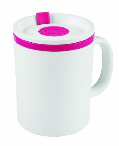 Copco Desk Insulated Mug, 16 ounce, Pink