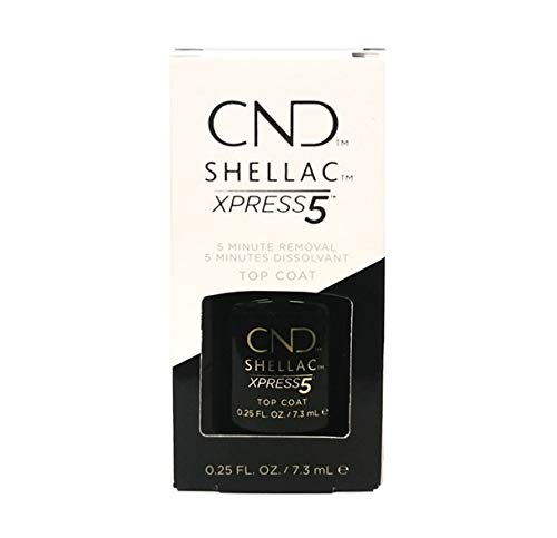 CND Shellac Xpress5 Kit de Vernis à Ongles Top Coat 7,3 ml