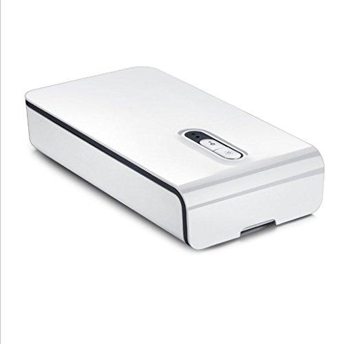 Sterilisator UV-sterilisator voor mobiele telefoon, multifunctionele reiniger, USB-oplading, geschikt voor mobiele telefoons, horloges, ondergoed, ondergoed en andere kleine voorwerpen sterilisator wit