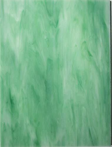Tiffany Glas Mosaik Platten 15x20cm Melone