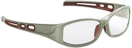 Eagle REC39EY15 Gafa de protección laboral con lentes de CR 39 - Vidreo T graduada de +1,5 dioptrías monofocal para vista cansada. Incluye funda de microfibra y cordón sujetador, Único