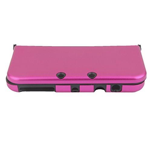 Housse de Protection Coque Case Boîte Pour New Nintendo 3DS XL Console - Rose Rouge