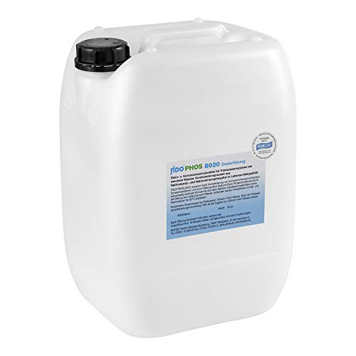 FidoPhos 8020 Dosierlösung 20 Liter (Alternative zu Grünbeck Exados grün ST und Grünbeck Exados rot)
