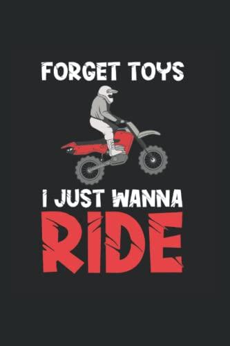 Kalender 2022: Dirt Bike Vergiss Spielzeug Ich will fahren Lustiges Motorrad fahren Lustiges Motorrad DIN A5 Organizer mit 120 Seiten   Notizbuch Terminplaner Wochenkalender Jahresplaner