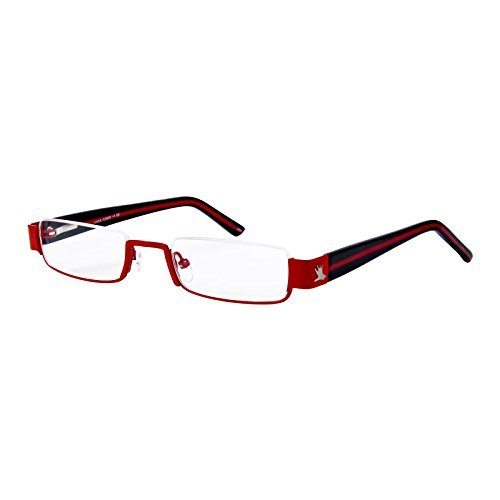 I NEED YOU Lesebrille Anna / +1.50 Dioptrien / Rot-Schwarz